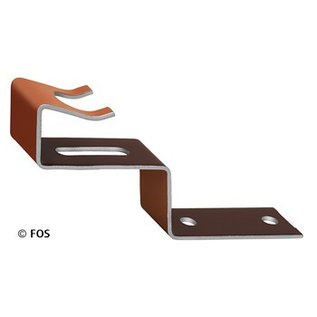 vorsthaak 470/131 aluminium bruin (doos à 50 stuks)