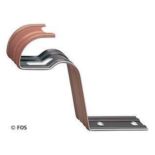 vorsthaak 470/163 aluminium bruin (doos à 50 stuks)