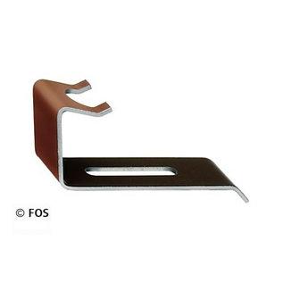 vorsthaken 470/166 aluminium bruin (doos à 50 stuks)