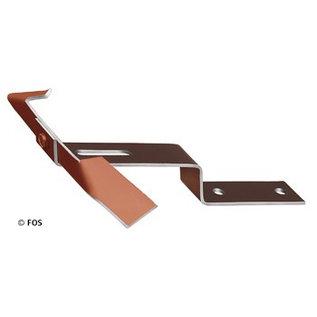vorsthaken 470/200 aluminium rood of zwart (doos à 25 stuks)