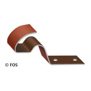 vorsthaak 470/151 aluminium rood of zwart (doos à 50 stuks)