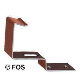 vorsthaken 470/144 aluminium rood of zwart-doos a 50 st.