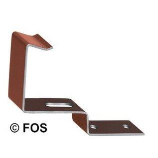 vorsthaak 470/144 aluminium rood of zwart (doos à 50 stuks)