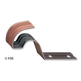 vorsthaken 470/024 aluminium rood of zwart-doos a 50 st.