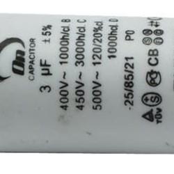 Ohmeron Aanloop condensator 3uF-450VAC