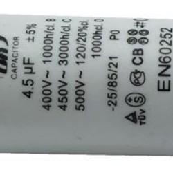 Ohmeron Aanloop condensator 4.5uF-450VAC