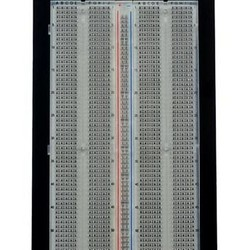 Breadboard 1360 ronde gaten - transparant