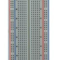 Breadboard 830 ronde gaten - wit