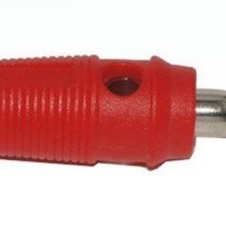 Ohmeron Banaanstekker - 4mm - Rood