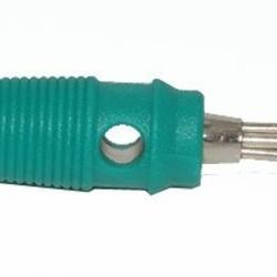 Ohmeron Banaanstekker - 4mm - Groen