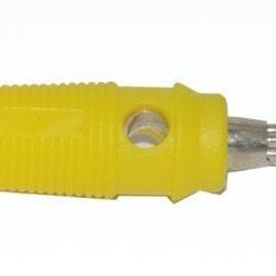 Ohmeron Banaanstekker - 4mm - Geel