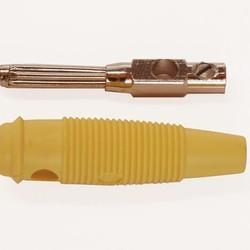 Hirschmann Hirschmann banaanstekker - Geel - 4mm
