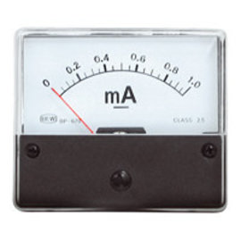 Blanko Paneelmeter 0-1mA DC