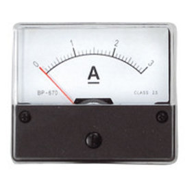 Blanko Paneelmeter 0-3A DC
