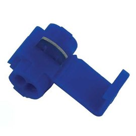 Ohmeron Quick splice - stroomdiefje blauw - 100x