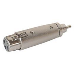 Kabel-Adapter XLR / Cinch-stekker