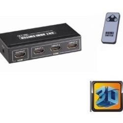 Ohmeron Compacte HDMI switch 3x1