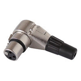 XLR plug (F) haaks
