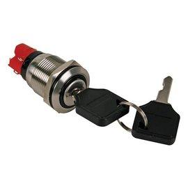 Sleutel-schakelaar 19mm