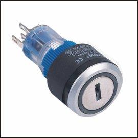 Sleutelschakelaar 5A-250V 22mm