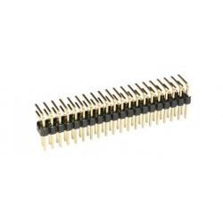Haakse connectorrij 2x17 pin