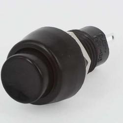 Miyama Drukknop (ON)-OFF zwart 3A - 125V / 1A - 250V