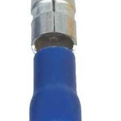 Ohmeron Doorverbinder mannelijk blauw - 100 stuks