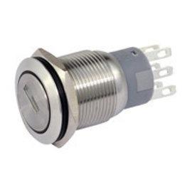Sintron Connect 2 polige sleutel-schakelaar 19mm