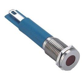 Ohmeron Signaallamp 230V Wit metalen uitvoering