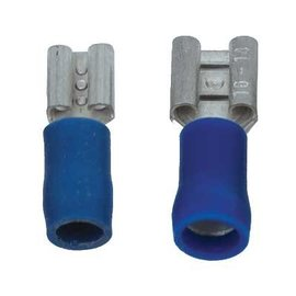 Sintron Connect 6.3x0.8mm Blauw - 100 stuks