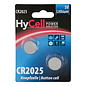 HyCell HyCell Lithium / CR2025, 2-delig