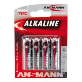 Alkaline / Mignon AA 4 delig