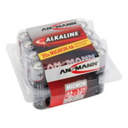 Ansmann Alkaline / Mignon AA, 20-delig