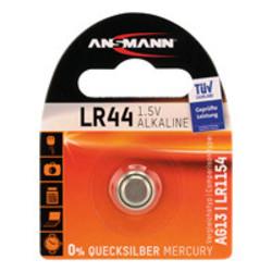 Ansmann knoopcel LR44 - 1.5 volt