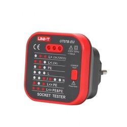 UNI-T Euro socket tester