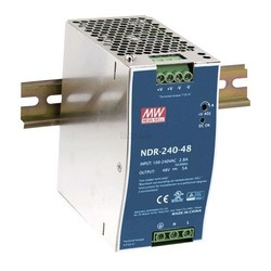 Meanwell Ind.voeding voor DIN-RAIL 24V 240W