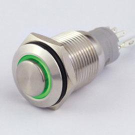 Sintron Connect Schakelaar 16mm groen 4-12V