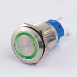 Sintron Connect Schakelaar 19mm groen 4-12V