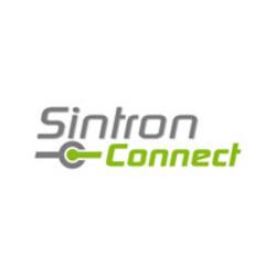 Sintron Connect drukknop met ringverlichting 19mm blauw 12V