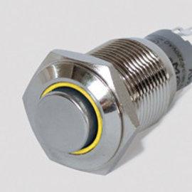 Sintron Connect Schakelaar 16mm geel 6-24V