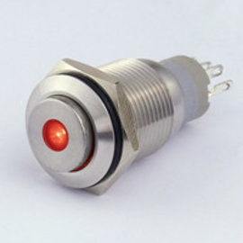 Sintron Connect Schakelaar 16mm  rood 4-12V