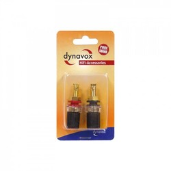 Audio Dynavox Banaanstekker set