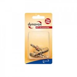 Audio Dynavox Banaanstekker-set