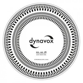 Audio Dynavox Pickup afregel sjabloon