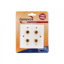 Audio Dynavox LS wandplaat wit