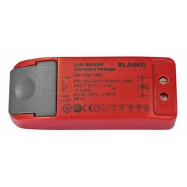 Blanko Driver 12V-1A - 96x38x23mm