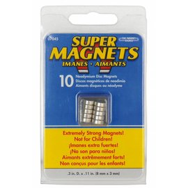 Sintron Magnetics Magneetset 10 stuks 8 x 3 mm