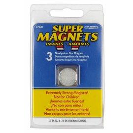 Sintron Magnetics Magneetset 3 stuks 18 x 3mm