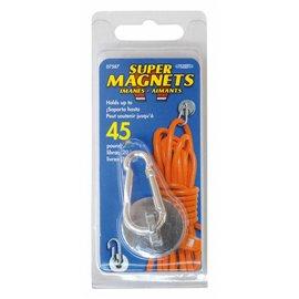 Sintron Magnetics Magneet met karabijnhaak - 20kg