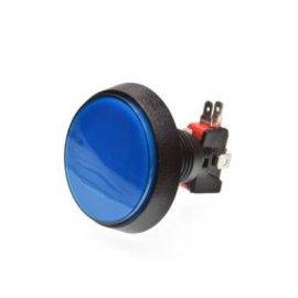 Grote Arcade LED drukknop blauw